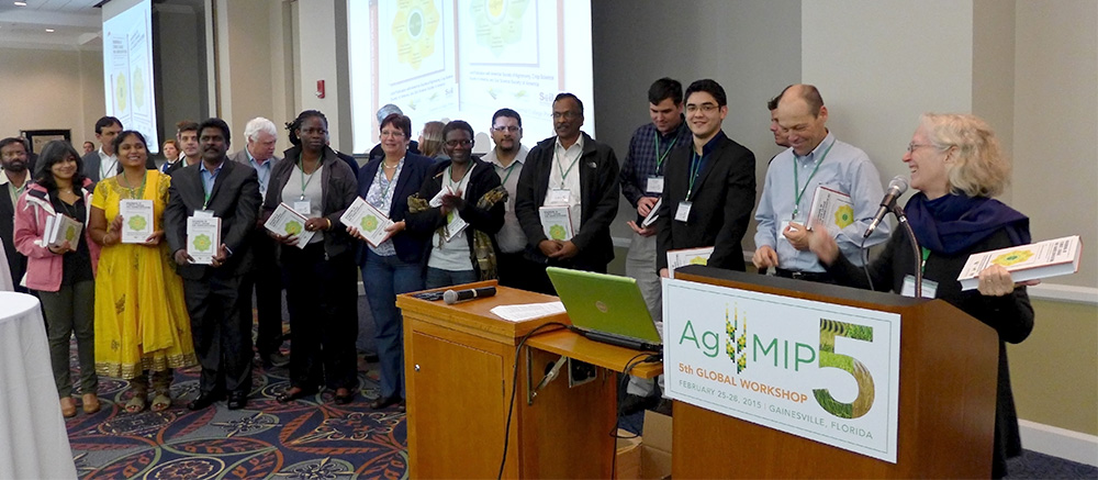 Handbook Authors and Editor at AgMIP5